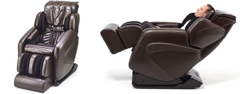 Jin Deluxe L-Track Massage Chair w Zero Gravity