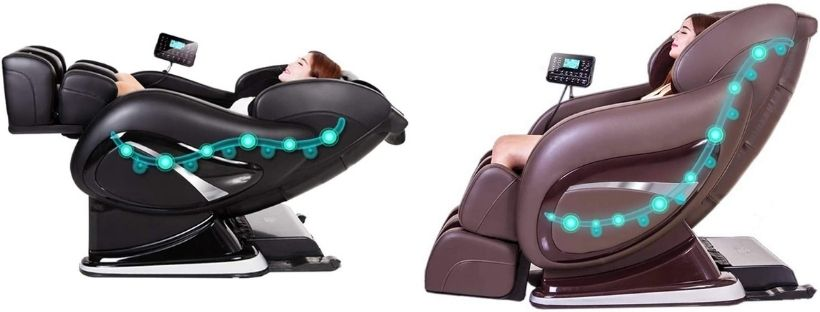 SEADOSHOPPING New Model Electric Full Body L and S Track 4D Zero Gravity Massage Chair
