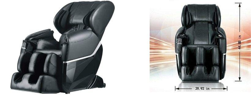 BestMassage Electric Full Body Shiatsu Massage Chair Recliner Zero Gravity with Heat