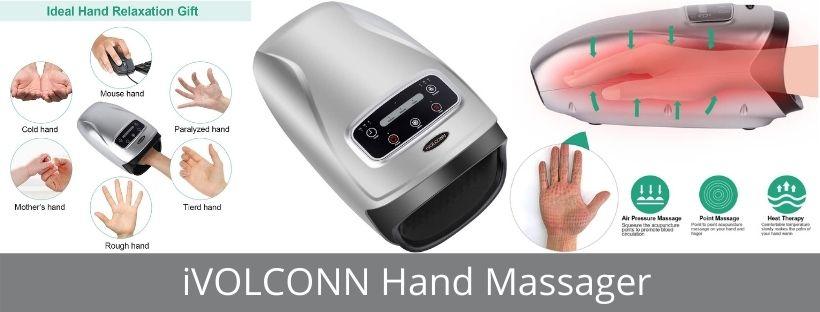 iVOLCONN Hand Massager