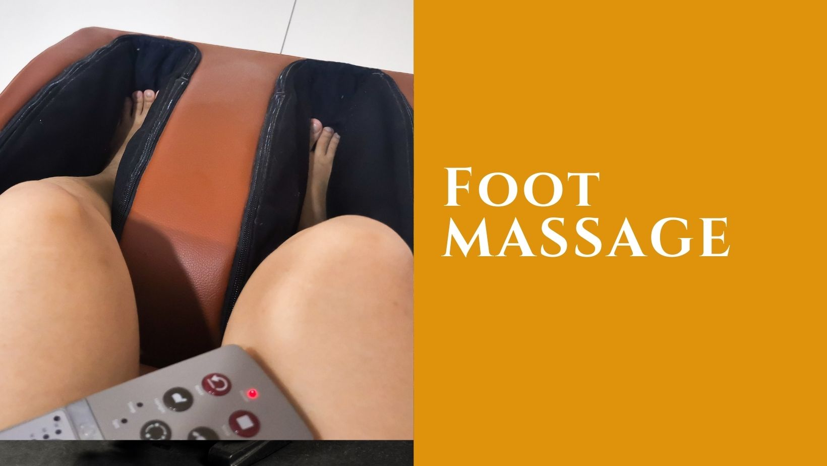 Solid Massage equipment - foot massage