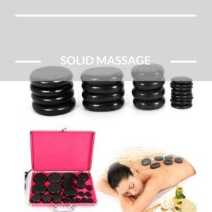 Electric Hot Stone Massage Set