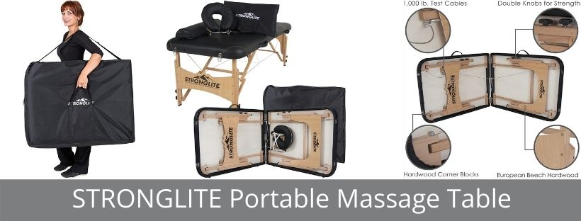 STRONGLITE Portable Massage Table