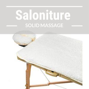 Saloniture Fleece Massage Table Pad